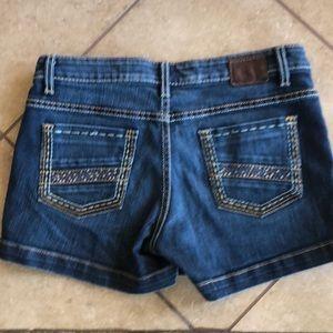 BKE Payton denim shorts